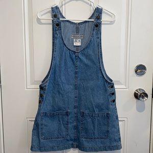 Vintage overall jean dress